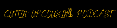 Logo for Cuttin' Up Cousins Podcast